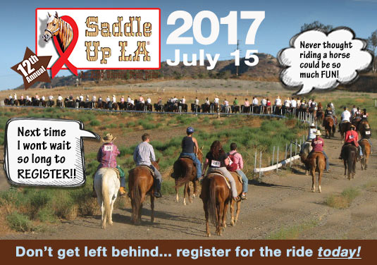 Clickhere to register for Saddle Up LA!